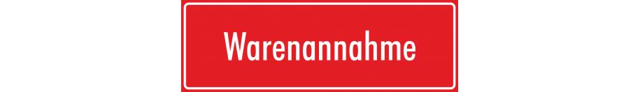 Hinweisaufkleber (rot)