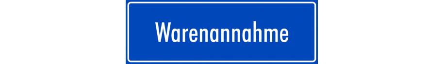 Hinweisaufkleber (blau)