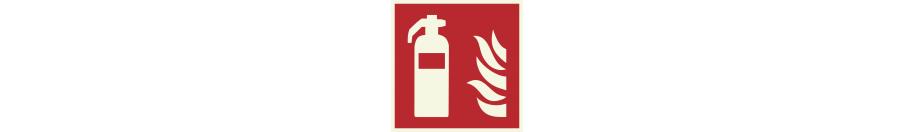 Lumineszierend Brandschutzzeichen Aufkleber